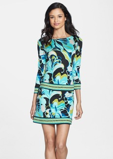 Trina Turk 'Emmet' Print Silk Shift Dress