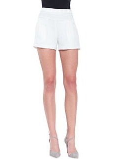 Trina Turk Fabiana Knit Shorts, Whitewash