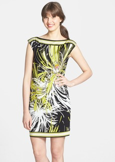 Trina Turk 'Felana' Print Jersey Shift Dress