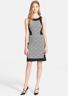 Trina Turk 'Halsey' Jacquard Pattern Sheath Dress