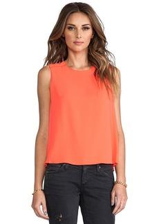 Trina Turk Jaala Top in Orange