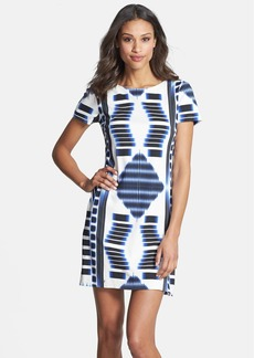 Trina Turk 'Katie' Print Ponte Knit Shift Dress