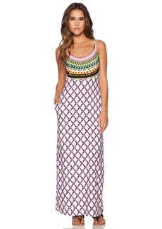 Trina Turk Kon Tiki Maxi Dress