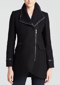 Trina Turk Mackenzie Asymmetrical Coat