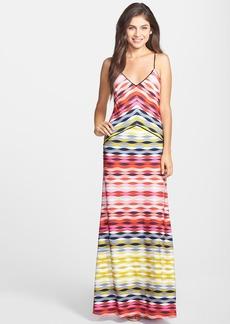 Trina Turk 'Maiz' Print Jersey Maxi Dress