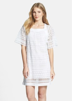 Trina Turk 'Mallory' Cotton Crochet Lace Shift Dress