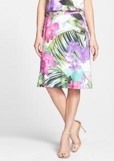 Trina Turk 'Marvella' Print A-Line Skirt