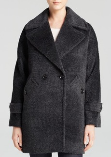 Trina Turk Nancy Boxy Alpaca Coat