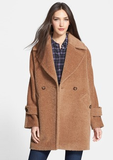 Trina Turk 'Nancy' Double Breasted Wool & Alpaca Blend Coat