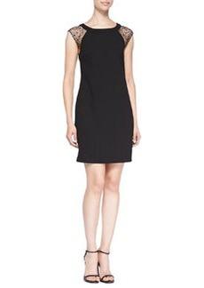 Trina Turk Nettle Cap-Sleeve Dress