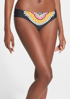 Trina Turk 'Nuevo Sol' Shirred Side Hipster Bikini Bottoms