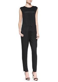 Trina Turk Oliana Drawstring-Waist Jersey Jumpsuit