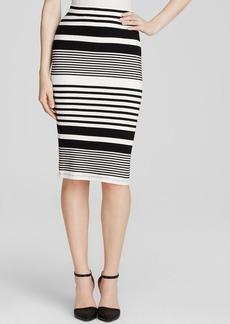 Trina Turk Pencil Skirt - Adelisa Stripe