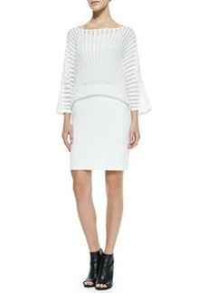 Trina Turk Penrose Overlay & Knit Dress