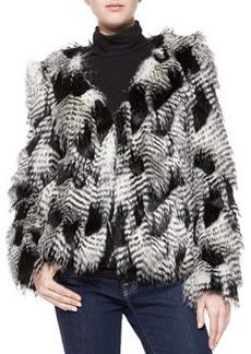 Trina Turk Priscilla Faux-Fur Jacket