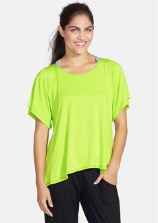 Trina Turk Recreation Cutout Jersey Tee