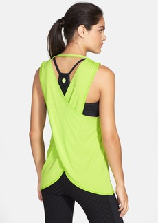 Trina Turk Recreation Drape Cross Back Tank