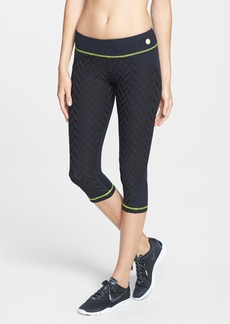 Trina Turk Recreation 'Jet Set' Jacquard Crop Leggings