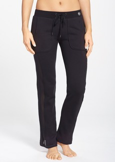 Trina Turk Recreation Mesh Inset French Terry Sweatpants