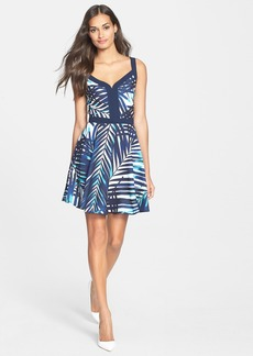 Trina Turk 'Rufina' Georgette Fit & Flare Dress
