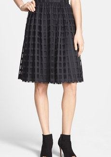 Trina Turk 'Sarita' Windowpane Lace Skirt
