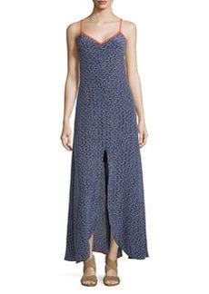 Trina Turk Sedonie 2 Print Dress W/Center Slit