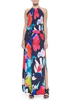 Trina Turk Shirley Jersey Halter Maxi Dress