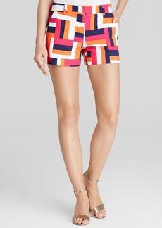 Trina Turk Corbin Brick Geo Shorts