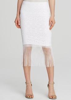 Trina Turk Inaya Fringed Skirt