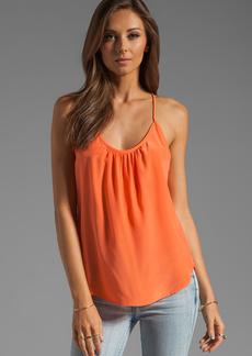 Trina Turk Solid Silk Skills Top