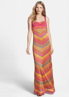Trina Turk 'Storm' Chevron Stripe Knit Maxi Dress
