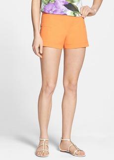Trina Turk Stretch Twill Shorts
