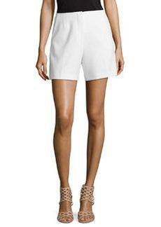 Trina Turk Valera Knit Shorts, White