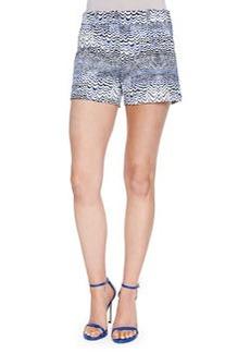 Trina Turk Wave-Print Shorts