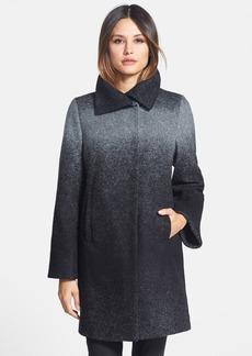 Trina Turk 'Willow' Ombré Wool Blend Coat (Regular & Petite)
