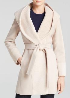 Trina Turk Wrap Coat - Jane Alpaca