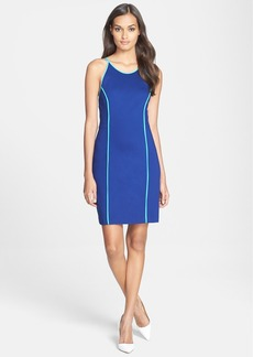 Trina Turk 'Yvette' Ponte Sheath Dress