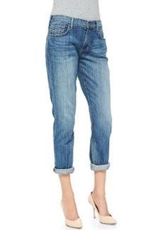 True Religion Audrey Mid-Rise Boyfriend Jeans, Spring Ink