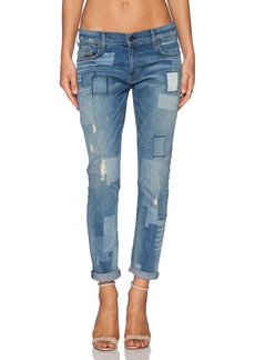 True Religion Audrey Patchwork Boyfriend