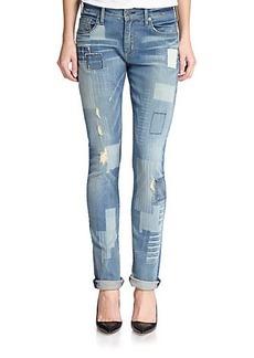 True Religion Audrey Patchwork Jeans