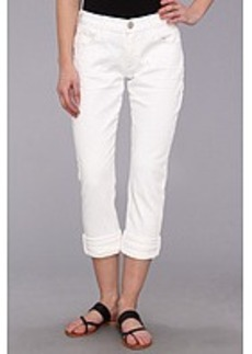 True Religion Audrey Rolled Relaxed Slim in Casa Blanca