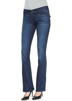 True Religion Becca Mid-Rise Boot-Cut Jeans, Faithful Message