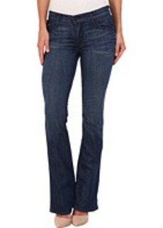 True Religion Becca Mid-Rise Bootcut w/ Flaps in Faithful Message