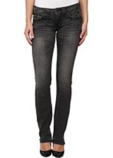 True Religion Billy Back Stretch Jean in Rebel Medium Black