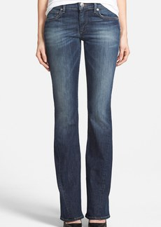 True Religion Brand Jeans 'Becca' Twisted Inseam Bootcut Jeans (Lost Lagoon) (Nordstrom Exclusive)