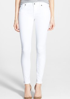True Religion Brand Jeans 'Casey' Ultra Skinny Jeans (Optic White)