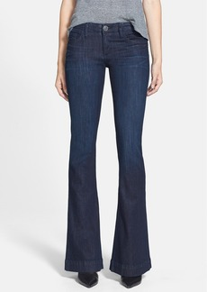 True Religion Brand Jeans 'Charlize' Low Rise Flare Leg Jeans (Picasso Blue)