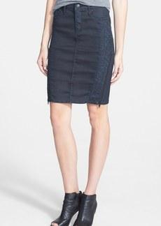 True Religion Brand Jeans 'Chloe' Coated Panel Skirt