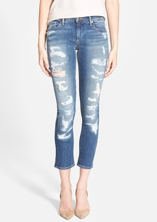 True Religion Brand Jeans 'Cora' Mid Rise Crop Jeans (Freemont Avenue)