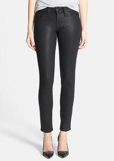 True Religion Brand Jeans 'Halle - Super Vixen' Coated Skinny Jeans (Black)
